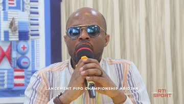 Lancement du pipo championship d'Abidjan