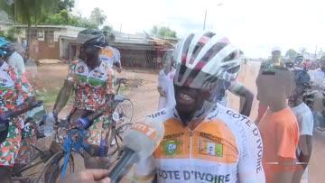 Cyclisme tour| Réaction du maillot