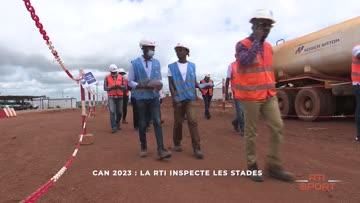Can 2023: la RTI inspecte les stades