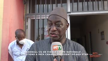 3 questions à Inza Camara président de Red Star