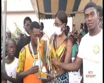 Sobea remporte le trophée du tournoi u15