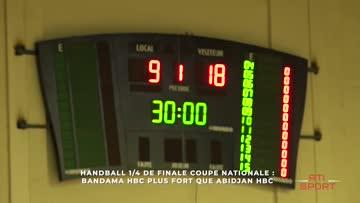 Bandama HBC plus fort que Abidjan HBC