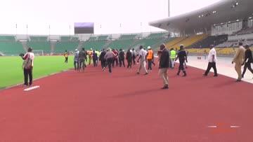 Le stade Ahidjo sous surveillance sanitaire