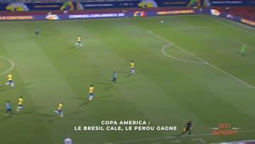 Le Bresil cale, le Pérou gagne